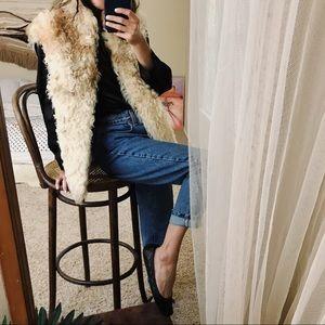 Jackets & Blazers - Vintage Spanish fur statement vest